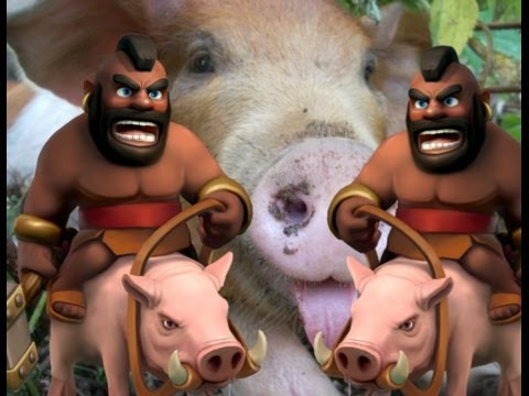 Anti-hog base design strategy video in Clash of Clans