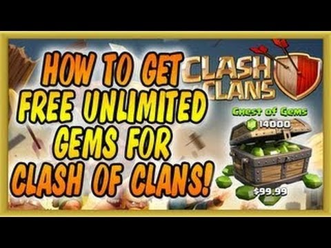 Clash of Clans Cheats for Gems [iOS and Android]