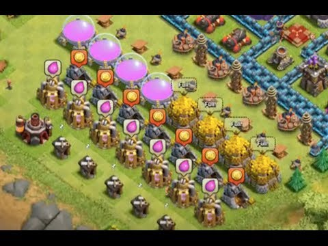 Clash of Clans Clan Wars LIVE and Peter17$ ESCAPES! Episode 78