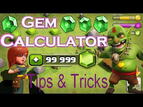 Clash Of Clans Hack Glitch – Gems Calculator