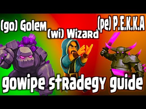 Clash Of Clans – Gowipe Strategy Guide