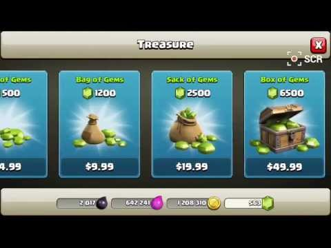"CLASH OF CLANS GEM GLITCH ""WORKING"" 2014 MAY"