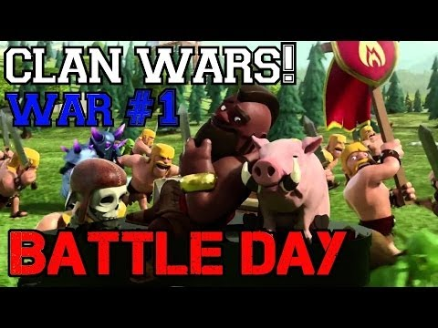 Clash of Clans: CLAN WARS Strategies | Who to Attack and How!