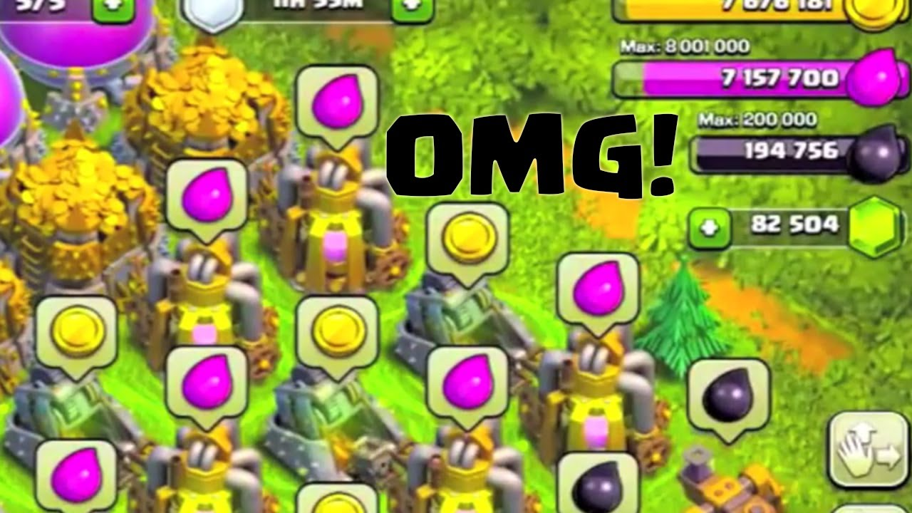 CLASH OF CLANS – MOST GEMS! MOST RESOURCES! MOST EVERYTHING!