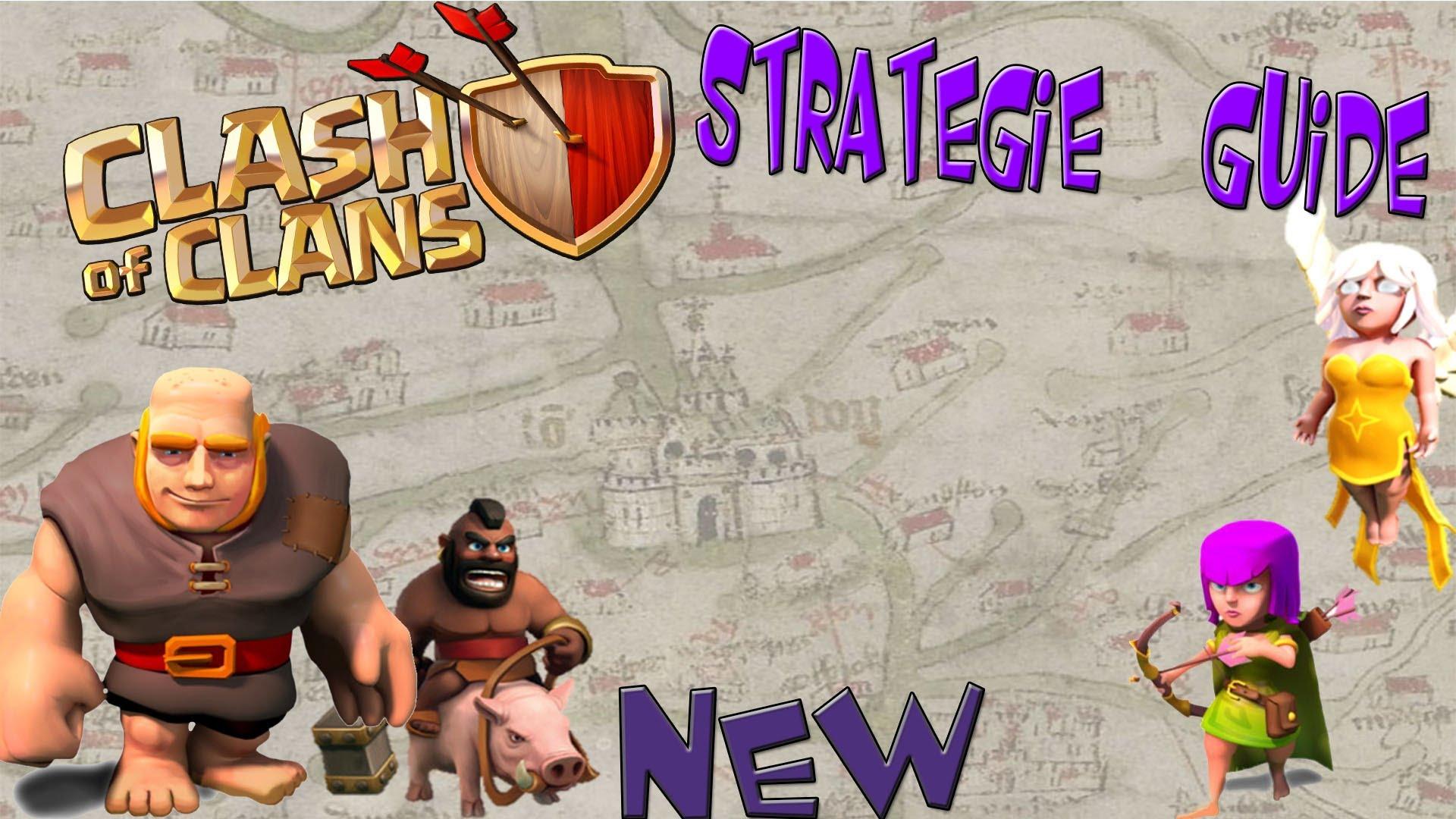 Clash of Clans – Angriffs Strategie Guide – BAM – 01- [Deutsch/Taktik/Tutorial/HD/Coc]