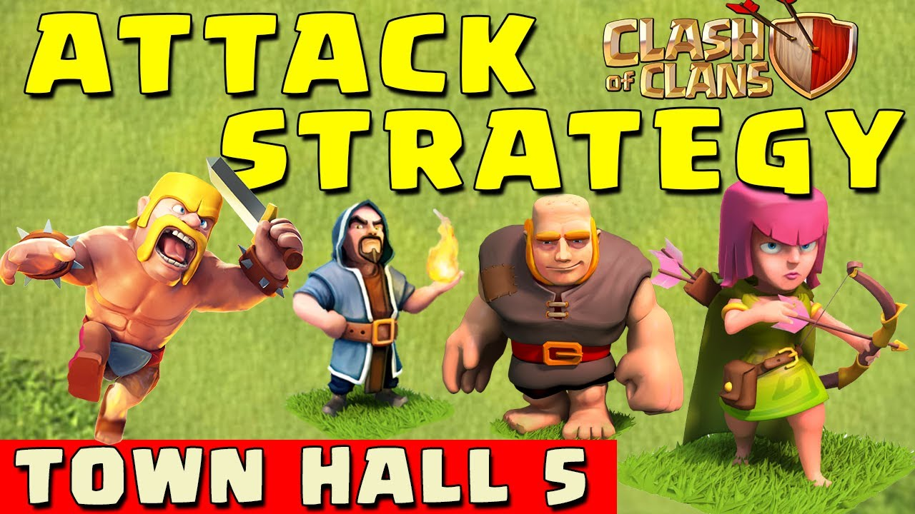 Clash of Clans – BEST ATTACK STRATEGY – Townhall Level 5 (CoC TH5 Attack Strategies)