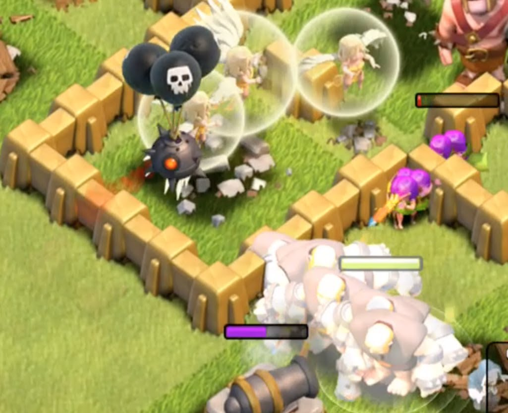 Clash of Clans Giant Healer Strategy 'From Fail to Win'! With Galadon and Peter17$!