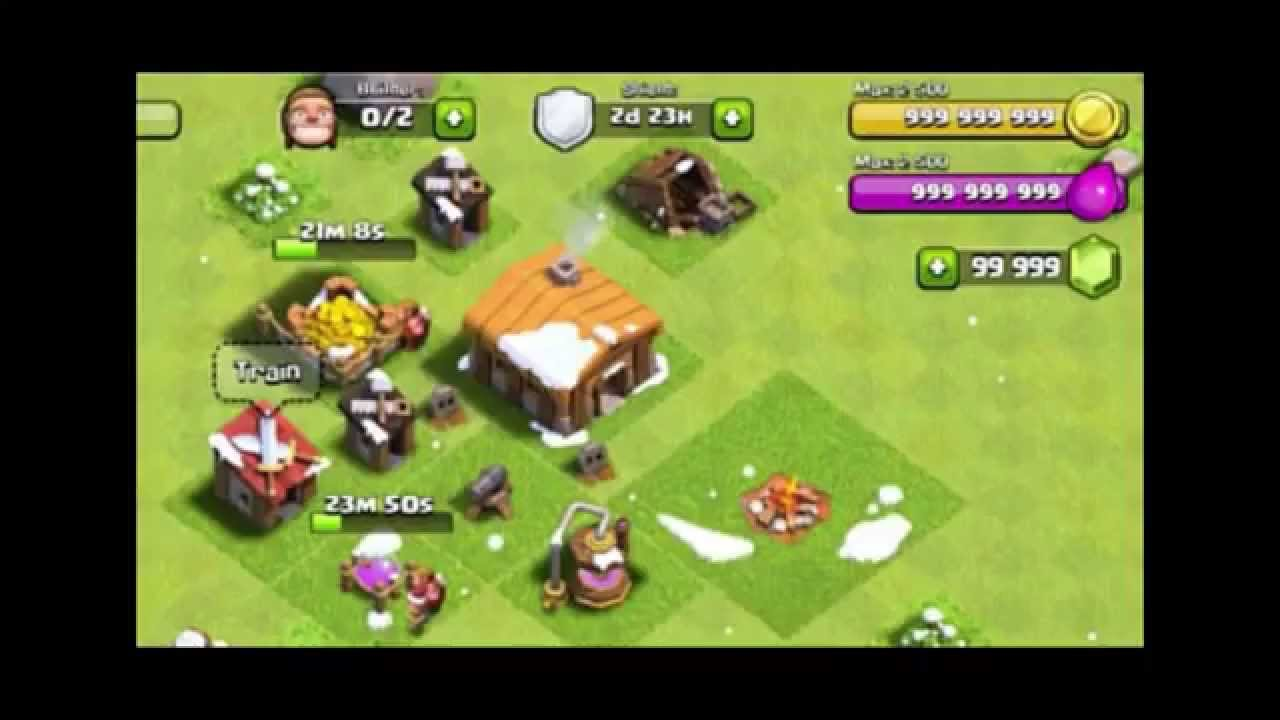 [FREE TOOL] Clash of Clans Gems Glitch, iPhone, iPad and Android [HD]