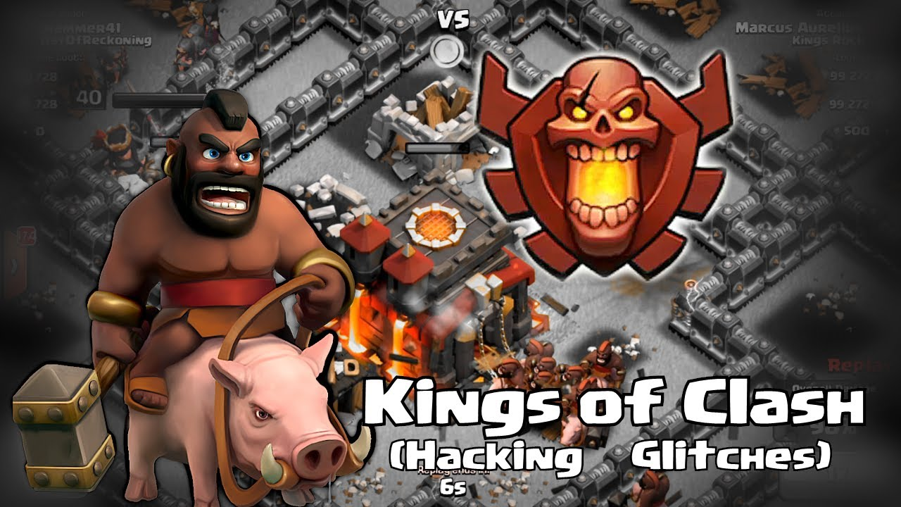 Clash of clans – Kings of clash (hacking and glitches)