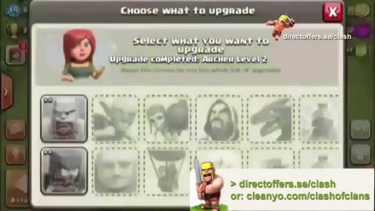 [2014] Free Clash of Clans Glitch, Android & iOS [RELEASED]