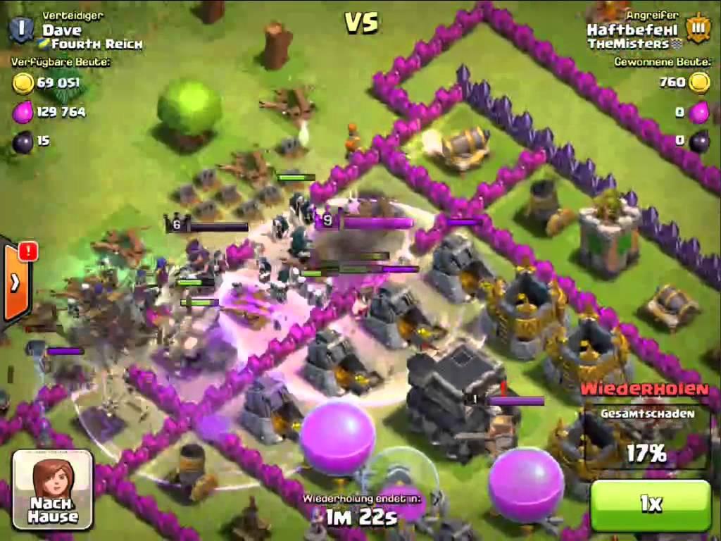 Clash of Clans – Angriffs Strategie Guide – GoWiWi – 04- [Deutsch/Taktik/Tutorial/HD/Coc]