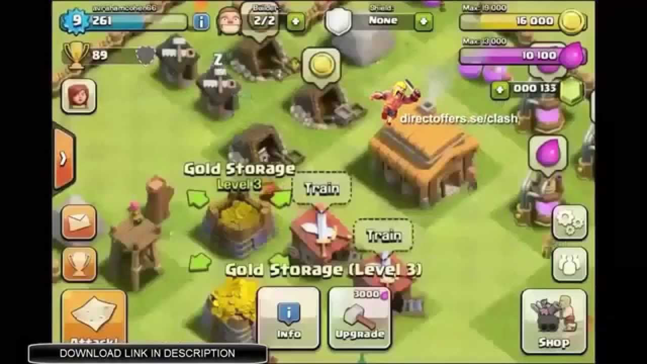 [FREE DOWNLOAD] Free Clash of Clans Glitch, Android & iOS [LATEST]