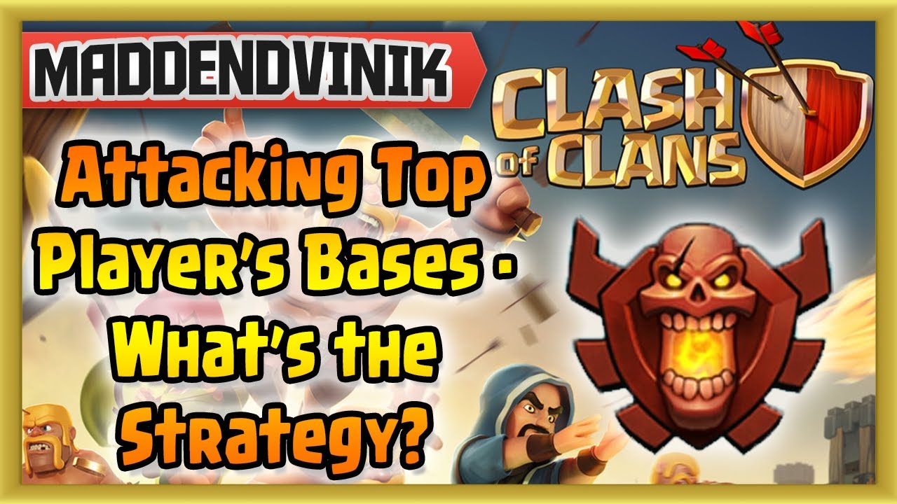 Clash of Clans –  Attacking Top Player's Bases – Strategy for Success (Gameplay Commentary)