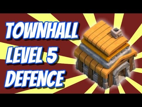 LEVEL 5 STRATEGY | New Town Hall Defence | Clash Of Clans Speed Build