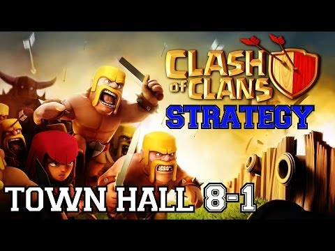Clash of Clans Strategy: Town Hall 8 | Rapid Training Army Configuration & Raid Targeting