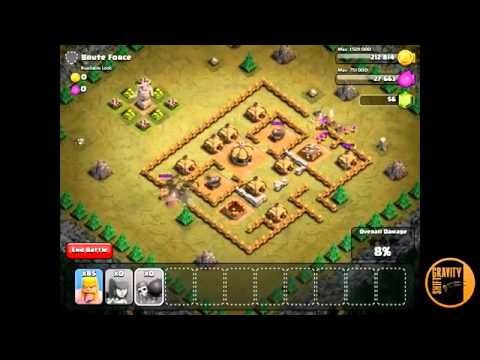 Goblin Training in Clash of Clans