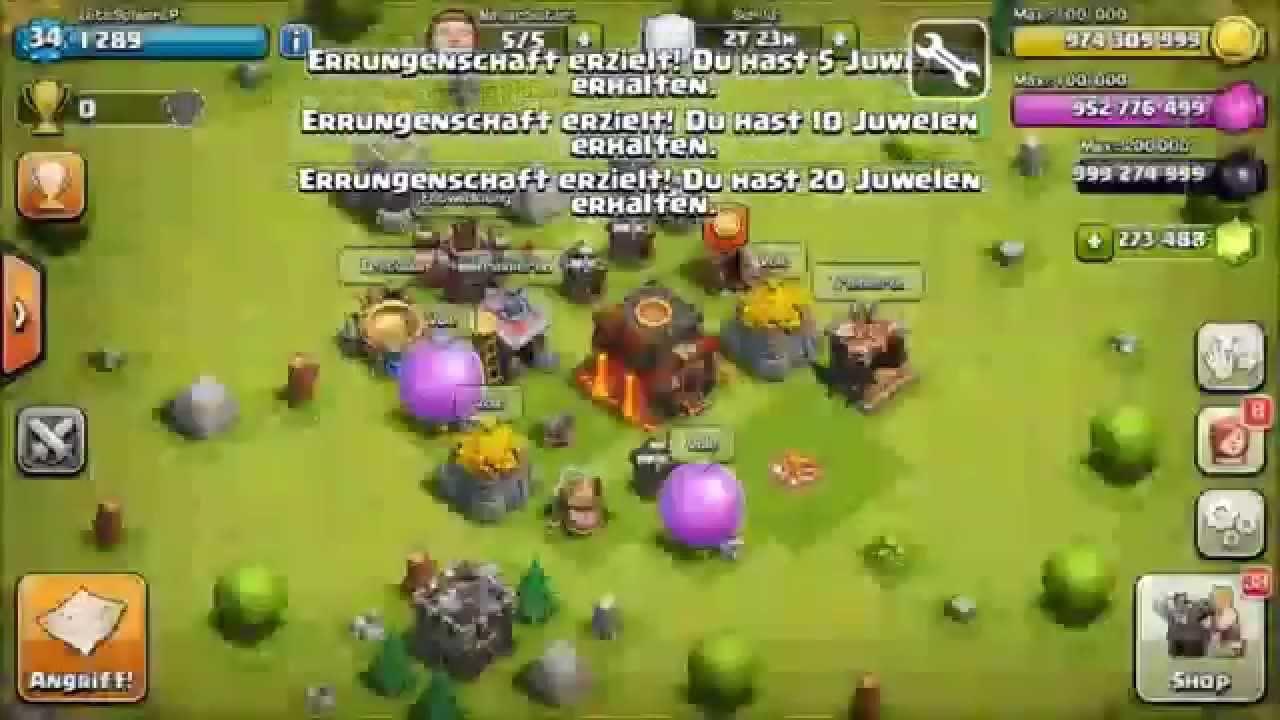 Clash of Clans Hack – Unlimited Gems elixir glitch gold cheat 2014 [Working]
