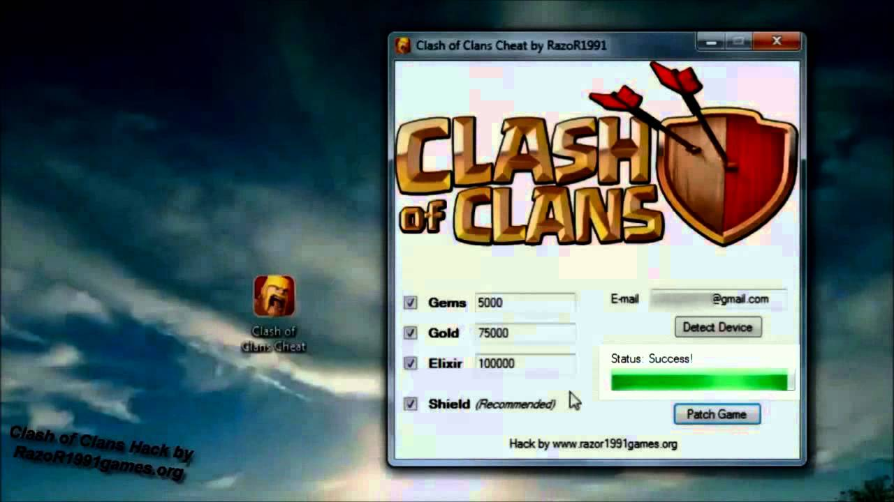 Clash of Clans Hack Unlimited Gems Hack 2014 WORKING PROOF [NO Survey NO Password]