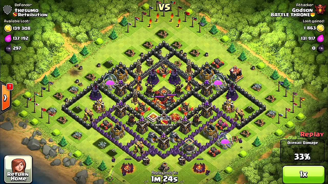Clash of clans – Heroes grace healing (glitch or supercell?)