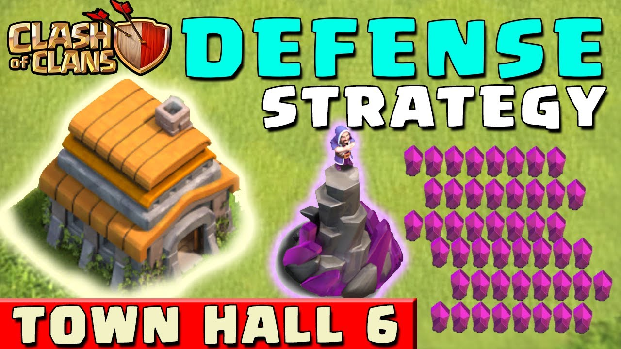 Clash of Clans – DEFENSE STRATEGY – Townhall Level 6 (CoC TH6 Defensive Strategies)
