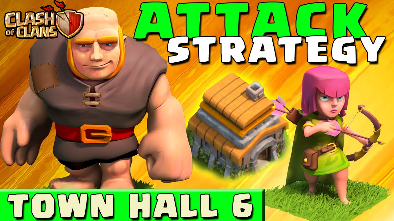 Clash of Clans – BEST ATTACK STRATEGY – Townhall Level 6 (CoC TH6 Attack Strategies)