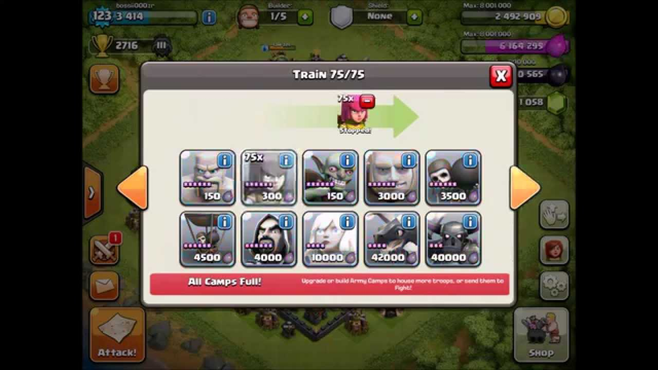 clash of clans hack online android no survey