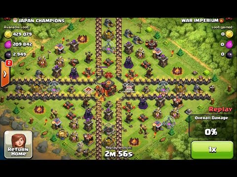 Clash of Clans – High Level Champions League Attack Strategy #27HD