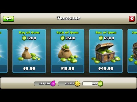Clash of Clans – Get FREE GEMS! Apple+Droid PRIVATE METHOD! September 2014!