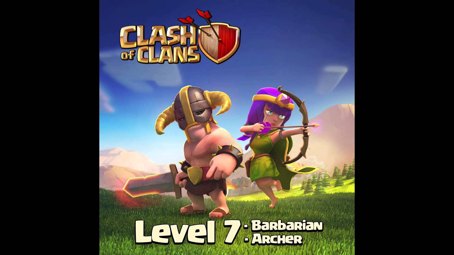 Clash of Clans Barbarian Level 7