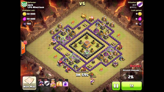 Clash of clans town hall 8 defense trophy war base layouts