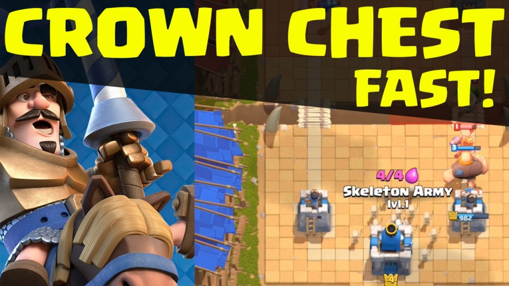 Clash Royale – FAST Crown Chest! 10 Crowns Fast in Clash Royale ...