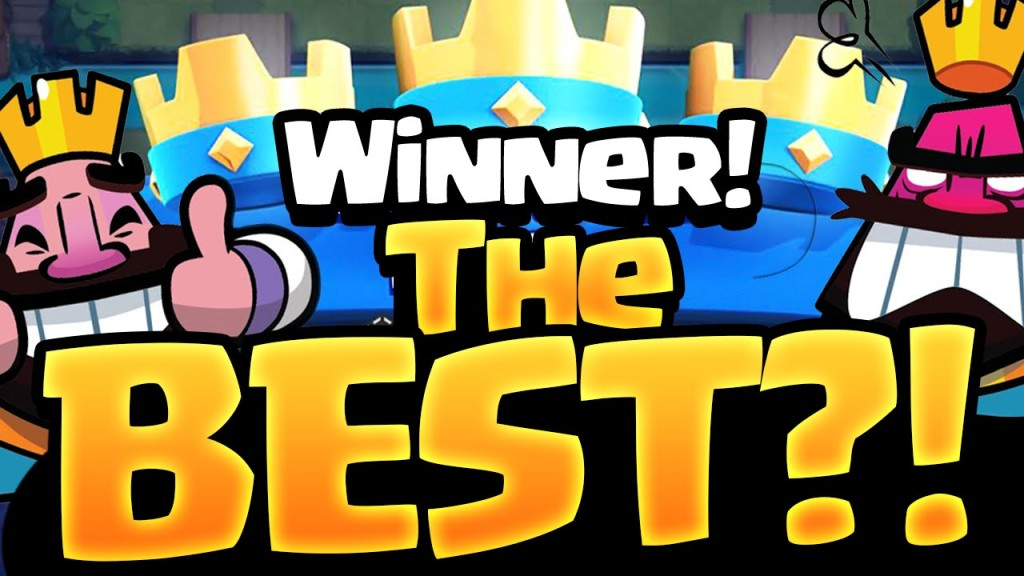 Clash Royale – The BEST Tournament Player?Clash Of Clans Guide And ...